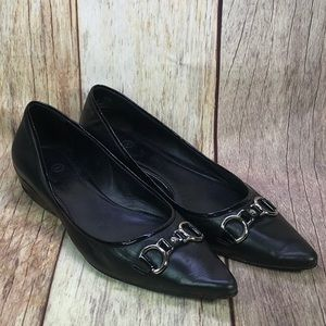 Shoes - COLE HAAN NIKE AIR SHOES Flats Black Pointed 9.5 B